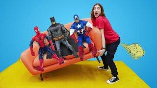 Человек Паук в видео Шоу Фабрика Героев – Экзамен супергероев!