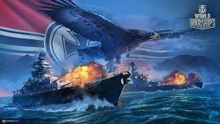 World of Warships- Операция Ржавый Якорь.2 Ночной Заход.