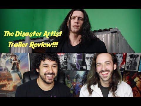The Disaster Artist Teaser TRAILER REVIEW!!!