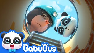 Help! The Water Pipe Is Broken | Super Panda Rescue Team | Monster Cars | Panda Cartoon | BabyBus