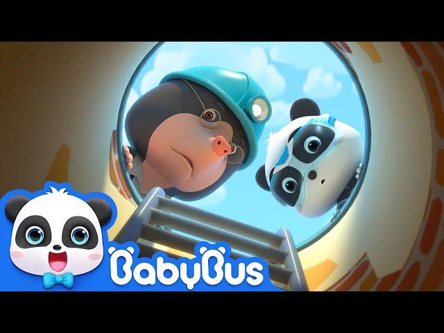 Help! The Water Pipe Is Broken | Super Panda Rescue Team | Monster Cars | Panda Cartoon | BabyBus