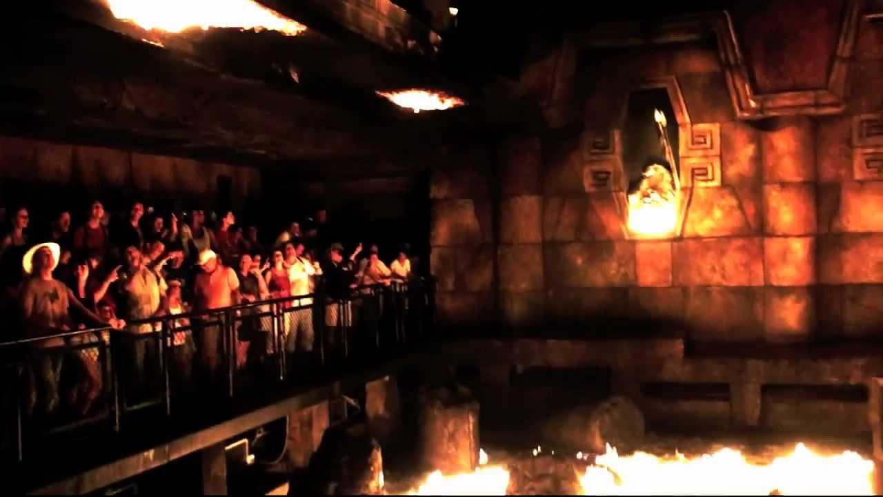 Templo Del Fuego Port Aventura Hd Multi Camera Full Ride