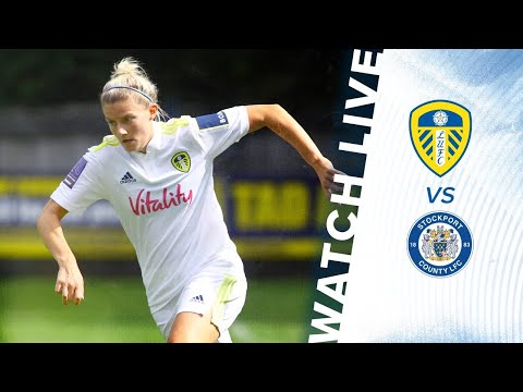 SOCCER LIVE: Leeds United Women v Stockport County Ladies    FA Women's National League