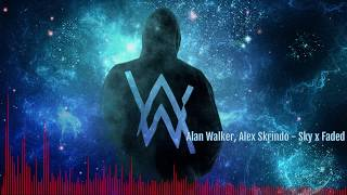Alex Skrindo, Alan Walker - Sky x Faded | By SS Remix