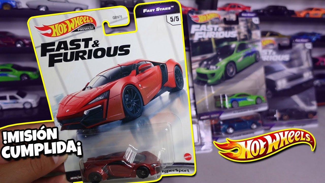 Llego el LYKAN VOLADOR | Hot Wheels Premium Fast & Furious FAST STARS Cherokee, Likan Hypersport