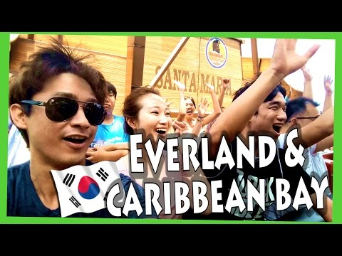 EVERLAND and CARIBBEAN BAY VLOG!