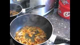 How To Cook Pan-fried Halibut With Girolle Mushrooms