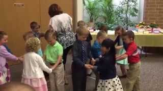 the Patty cake polka - Christina & her classmates (kindergarten)