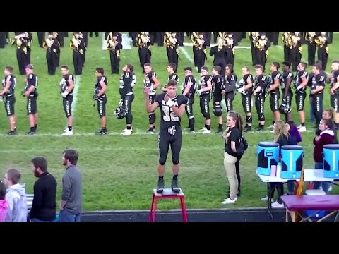 Lulu - High School Football Player Signs The National Anthem