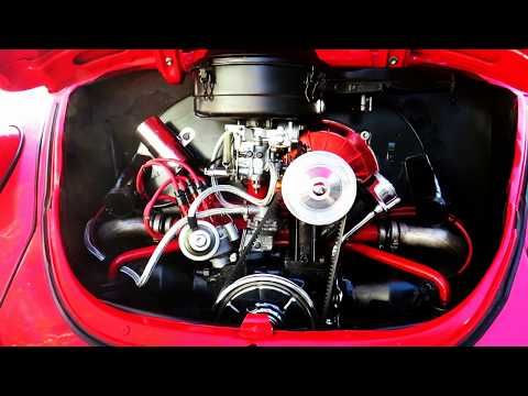 Detailing A Classic VW Beetle Engine
