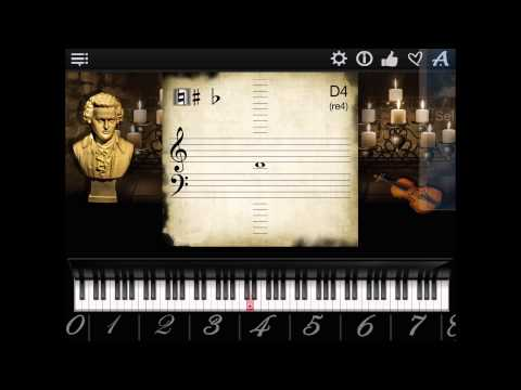 Piano Notes Finder App