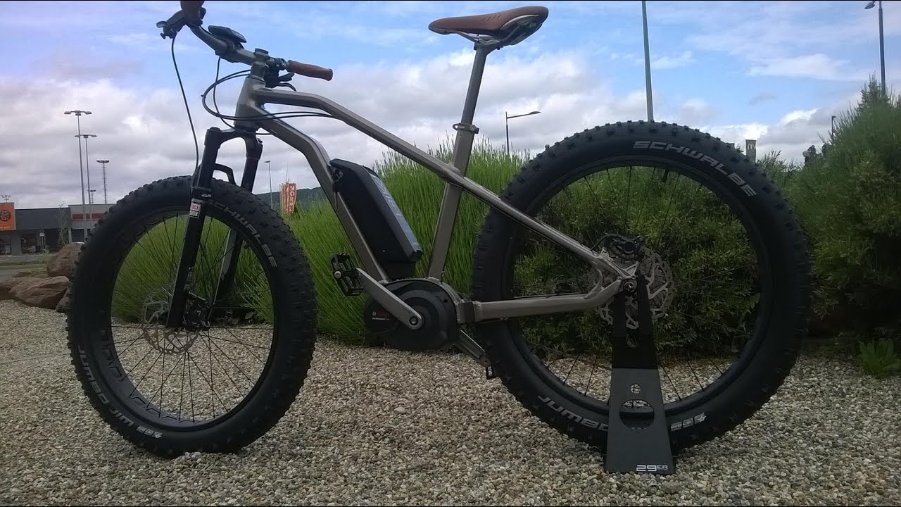 Préférence FAT E-BIKE _S+ARCKBIKE SAND MOUSTACHE - YouTube OW28