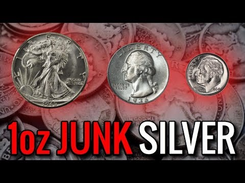 How Many Silver Quarters, Dimes, \u0026 Half Dollars Make 1 Troy Ounce? | Fractional Precious Metal Coins