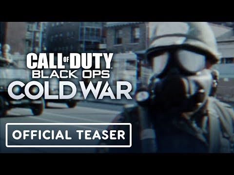 Call Of Duty Black Ops Cold War Official Teaser Trailer Youtube