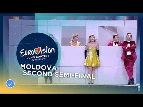DoReDoS - My Lucky Day - Moldova - LIVE - Second Semi-Final - Eurovision 2018