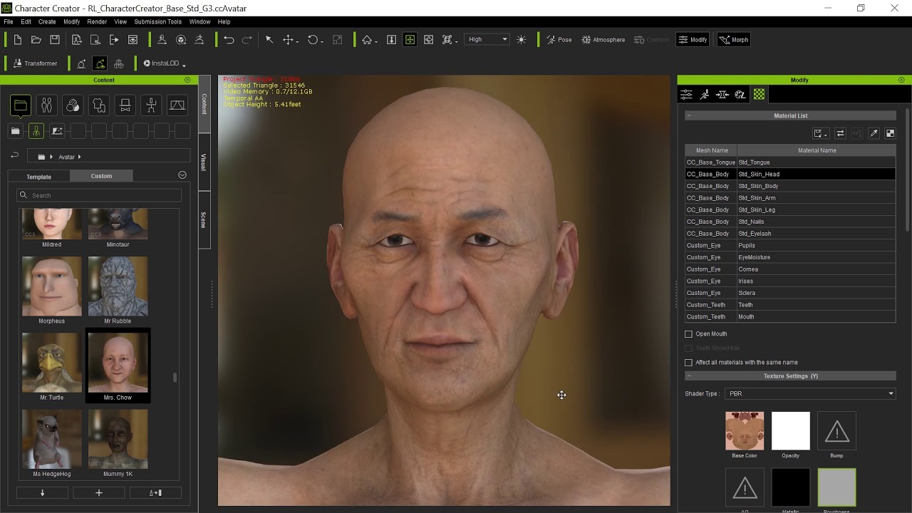 Convert Daz Characters to CC3 -- Skin complete textures