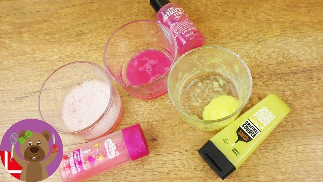 SLIM af 2 Ingredienser! Shower Gel Forsøg | DIY Eksperiment - Hvilken Badesæbe er den Bedste???