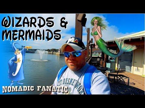 Wizards, Mermaids, Seafood, & Lava