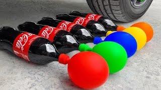 له کردن کوکا کولا و شکستن ماشین لایتنینگ مک کویین کارز ۳ له کردن اجسام با تایر ماشین