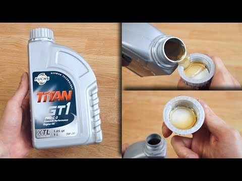 Fuchs Titan GT1 Pro C3 5W30 How does the original engine oil look like?