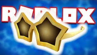ROBLOX - [EVENT] to get the GOLDEN STAR SHADES   ROBLOX Design It