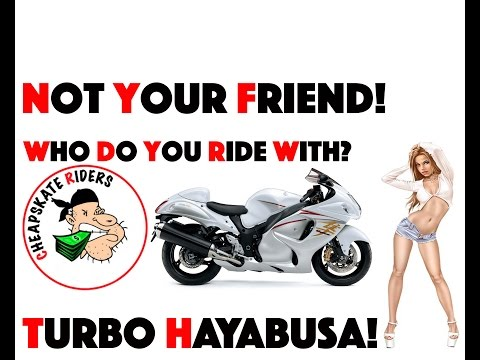 Why I pick a Hayabusa | No Cheap Mods | Not your friend | Turbo Hayabusa