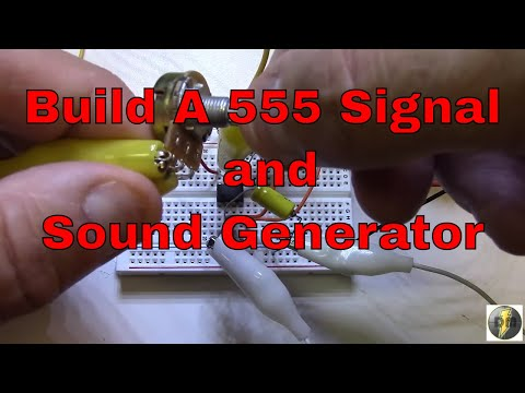555 Timer Project - Signal and Sound Generator