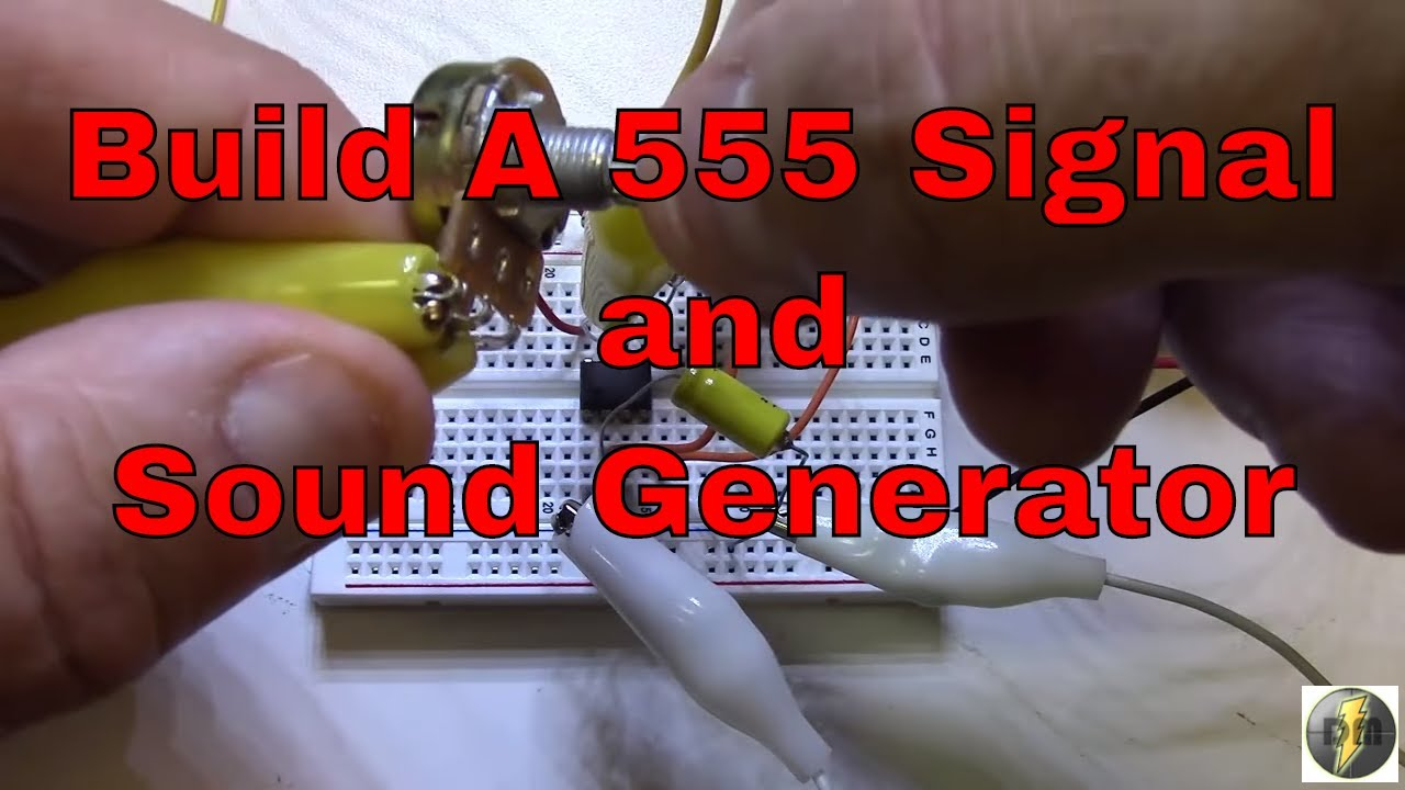 555 Timer Project Signal And Sound Generator Youtube Buzzer Beeper Circuit Circuits Caroldoey