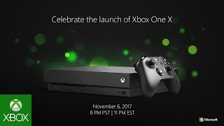 Xbox One X Launch | LIVE
