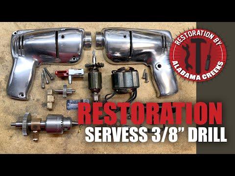 SERVESS Electric Drill Restoration