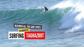 Surfing in Anchor Point (Morocco) - Road trip Portugal to Morocco - Skateparks and surf spots search