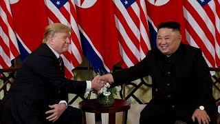 Во Вьетнаме состоялась историческая встреча лидеров США и Северной Кореи