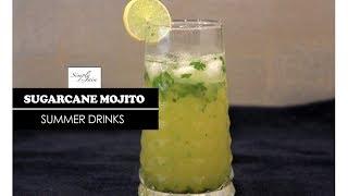 Sugarcane Mojito | How To Make Summer Refreshments | Summer Drinks | Simply Jain