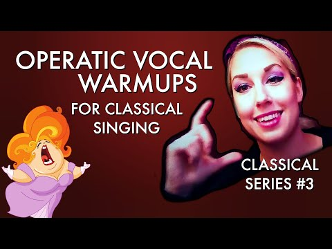 Operatic Singing Warmups!  Exercise #1 - Classical Series #3 - Voice Hacks by Mary Z