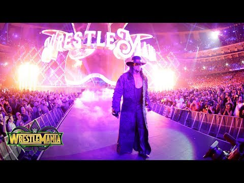The Undertaker emerges from the darkness to accept John Cena's challenge: WrestleMania 34 thumbnail