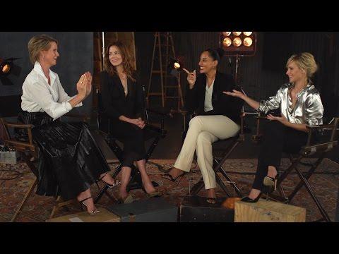 Cynthia Nixon, Tracee Ellis Ross, Kristen Bell & Michelle Monaghan Debate Women In TV