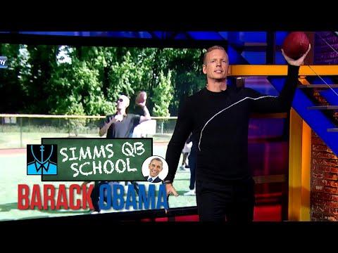 Simms QB School: President Barack Obama | Chris Simms Unbuttoned | NBC Sports