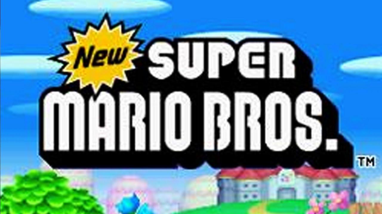 New Super Mario Bros  DS Full Game Walkthrough (100%)