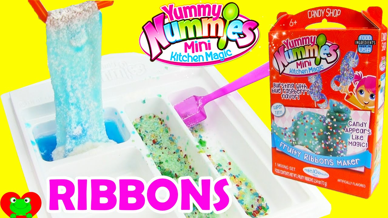 Yummy nummies fruity ribbons maker mini kitchen magic doovi for Kitchen set toys r us philippines