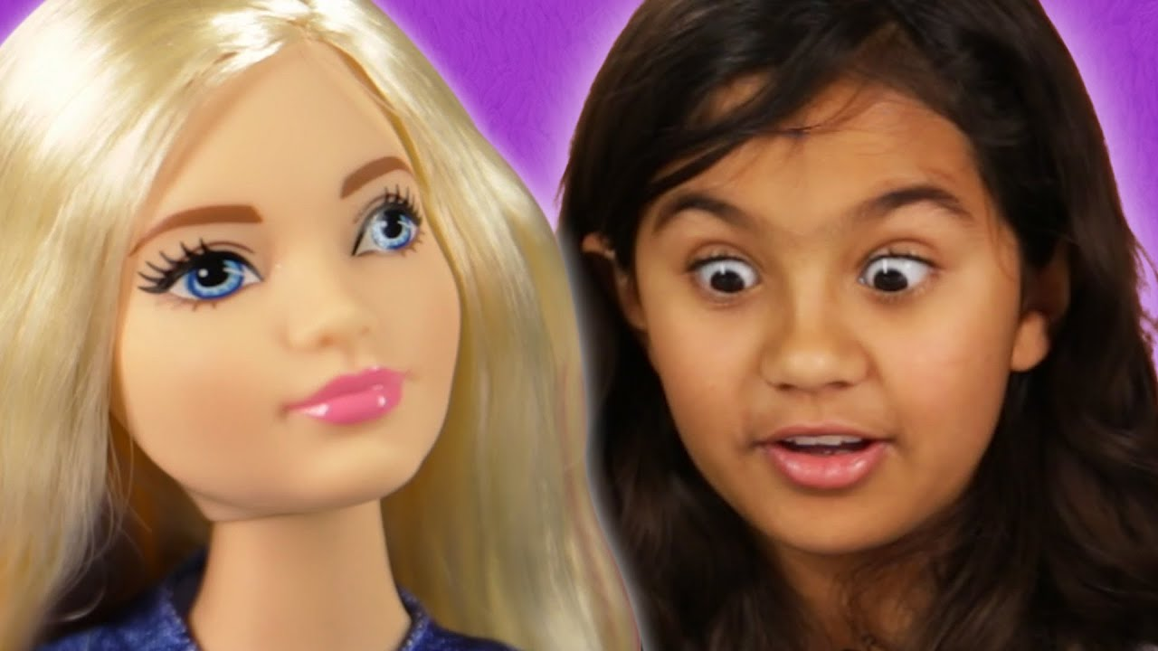 Kids review the new barbie bodies youtube - Barbie barbie barbie barbie barbie ...