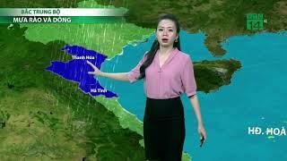 Thời tiết 6h 17/09/2018: Quảng Ninh, Cao Bằng, Lạng Sơn có gió mạnh cấp 6, giật cấp 7| VTC14