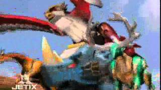 Power Rangers Wild Force - Isis Megazord Transformation