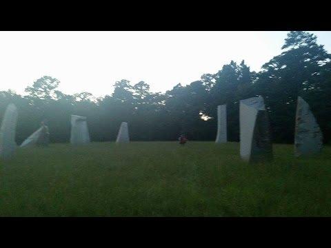 The Standing Stones, Texas Stonehenge (Worshiping stones) Gilmer, TX