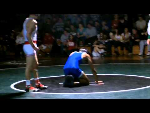 District 25 Wrestling: Pagan bout