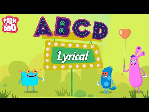 ABCD Poem For Kids With Lyrics | Popular Nursery Rhyme For Children | Peekaboo Kids