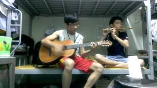 Hòa tấu ANH - guitar NGHĨA NGÂY NGÔ sáo trúc QUANG SINH