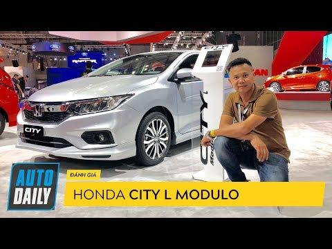 Honda City L Modulo cực ấn tượng với giá 618 triệu đồng |AUTODAILY.VN|