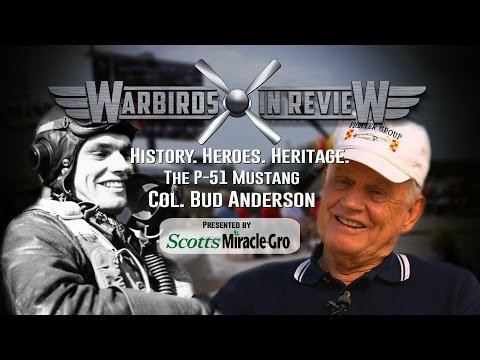 Warbirds In Review: C.E. Bud Anderson