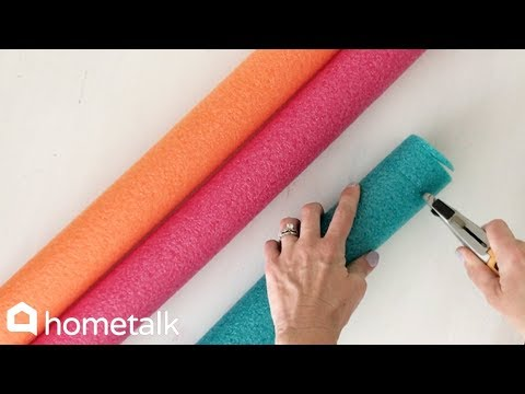 14 Clever Ideas to Make for Your Home With Dollar Store Pool Noodles | Hometalk