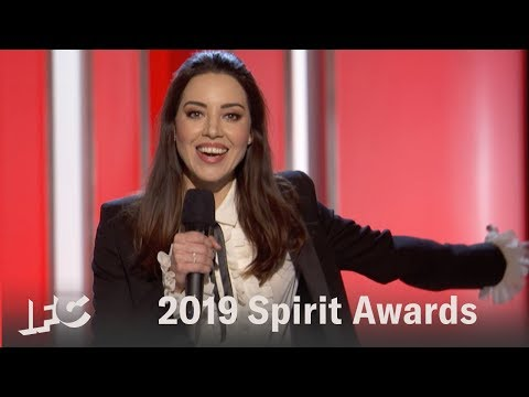 Aubrey Plaza's Opening Monologue  | 2019 Spirit Awards